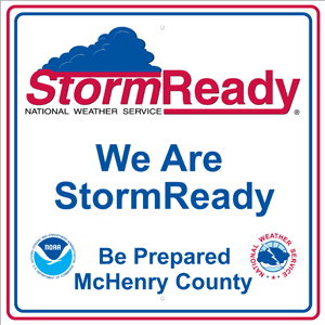 We Are StormReady - Be Prepared McHenry County