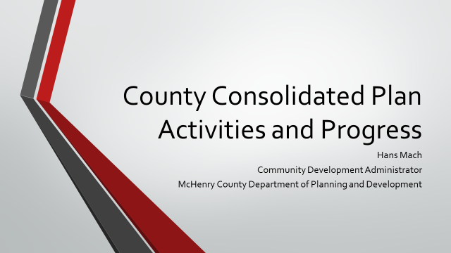County Consolidated plan