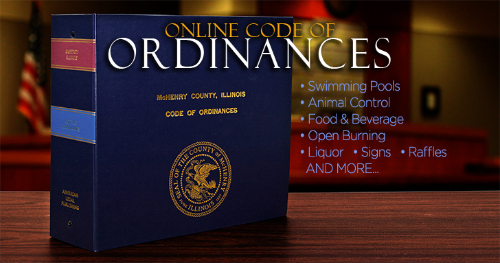 McHenry County Ordinances