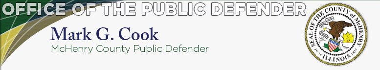 Office of the Public Defender - Mark G. Cook