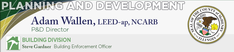 Planning and Development - Building Division