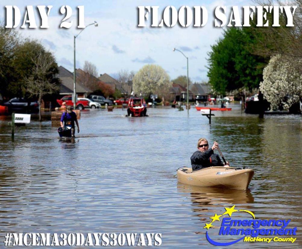 day 21 flood preparedness mchenry county il