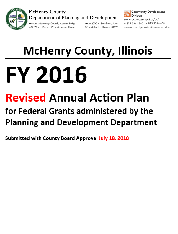 Revised 2016 Annual Action Plan