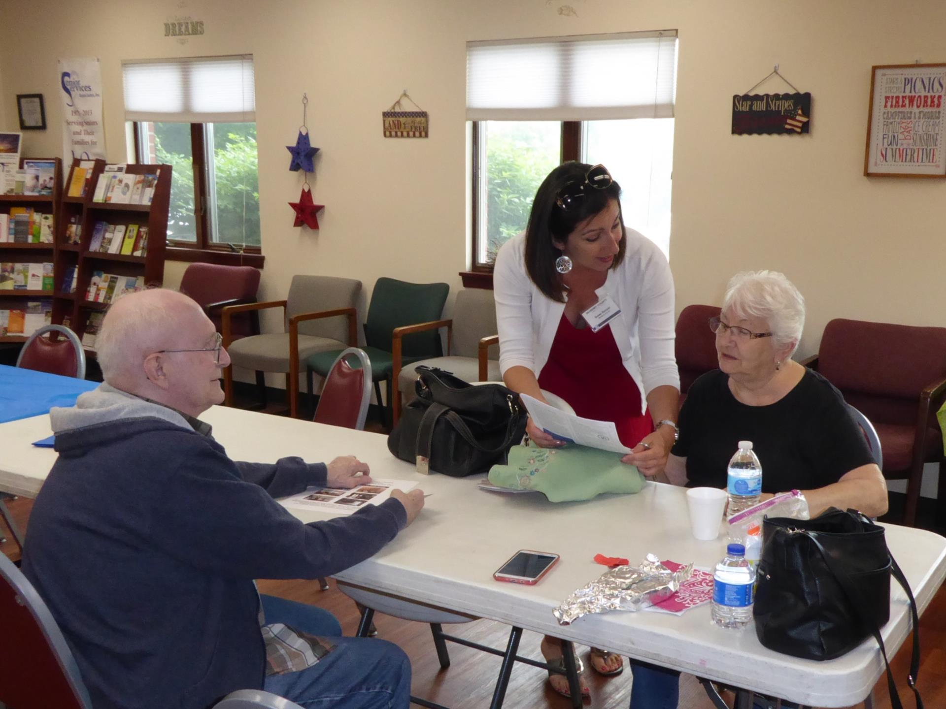 Focus group for Seniors at McHenry Township