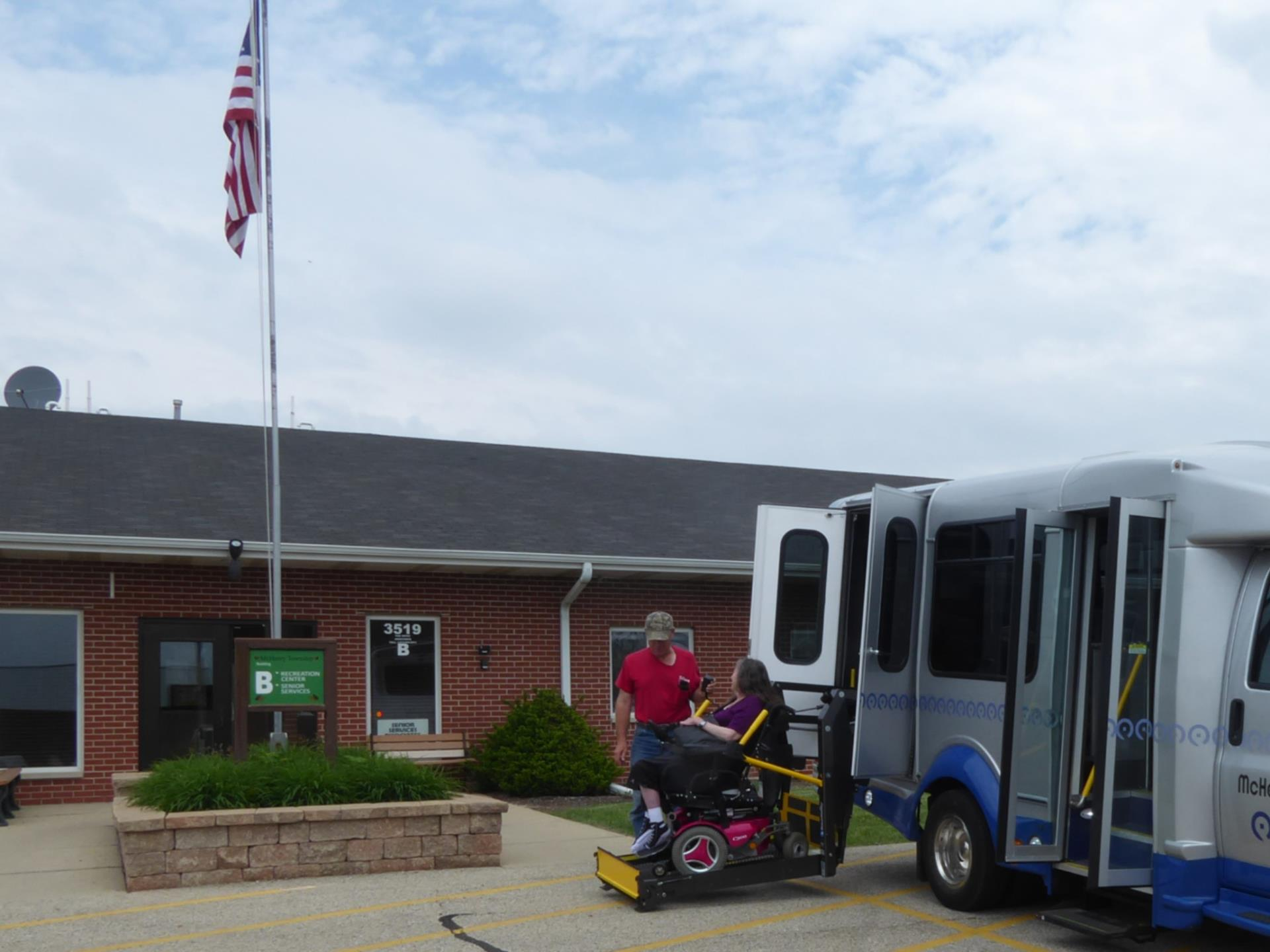 Using transit to get to McHenry Twp Sr Cntr