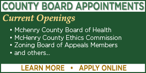County Board Has Appointment Openings - Learn More - Apply Online