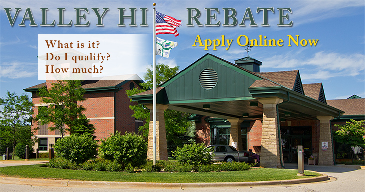 Apply Online for Your Valley Hi Rebate