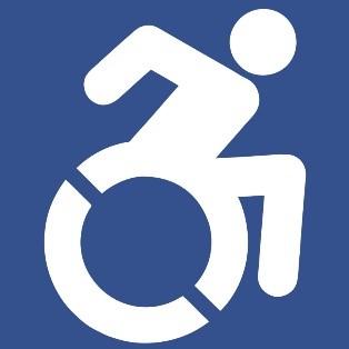 Active wheelchair symbol