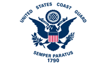 US Coast Guard Parade Flag