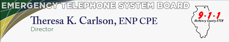 Emergency Telephone System Board - Theresa K. Carson, 911 Coordinator
