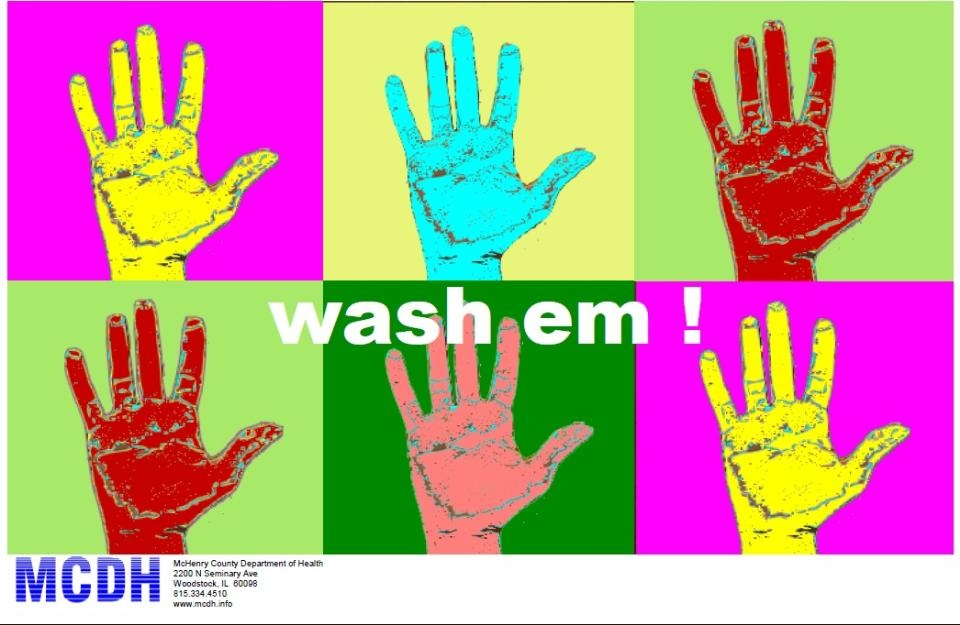 handwashing posters mchenry county il