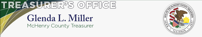 Treasurer's Office - Glenda L. Miller, McHenry County Treasurer